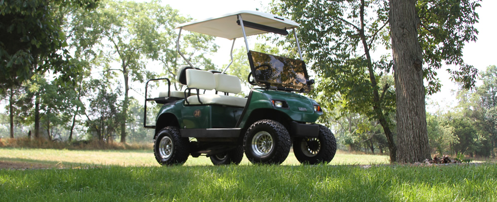 Stay Green With Hilltown Golf Carts