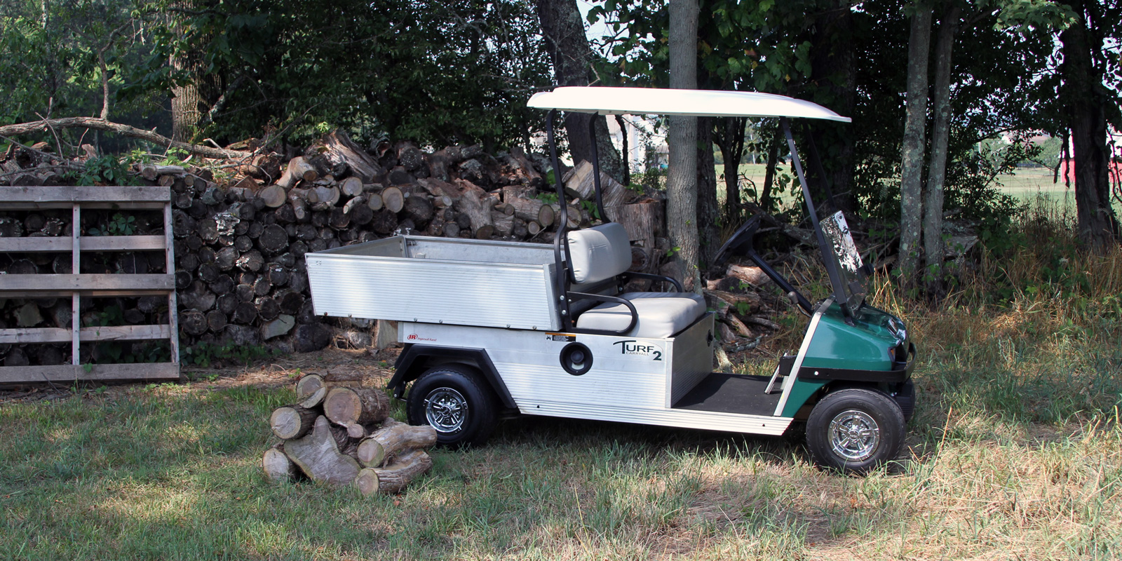 home-golf-cart-firewood